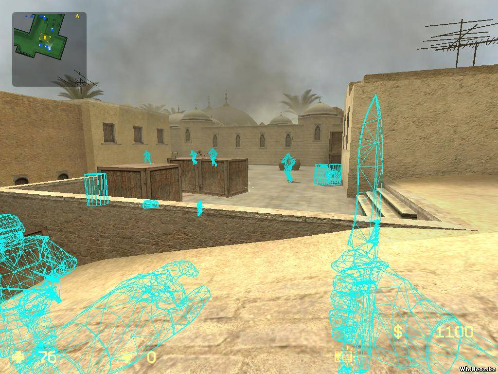 Чит для Counter Strike Source v34 - YouTube